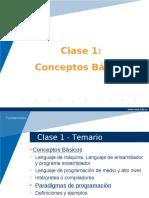 Fundamentos de informatica - Conceptos Basicos