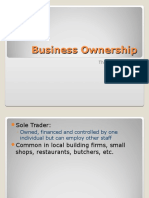 1.2 Bized - Business Ownership