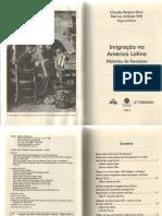 Imigraçao Na America Latina