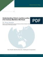 Understanding China's Maritime Policy 21st Century Maritime Silk Road - Teng Jianqun