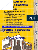 UNIDAD v (Cortes y Secciones)2010
