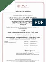 Infinity - HACCP Certificate.pdf