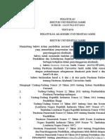Peraturan Akademik UNJA 2013 (26 Juni 2013) - Final