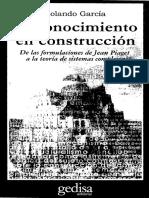 Rolando García-El Conocimiento en Construccion (2000)