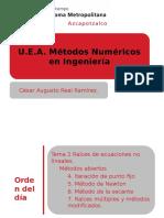 Presenta MN Raices Ec No Lineales 4b Parte