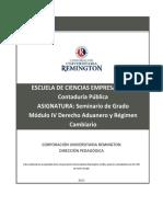 10-Derecho Aduanero y Regimen Cambiario