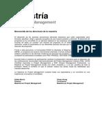 Folleto Maestría en Projecto Management 2016 - I