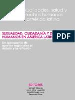 Sexualidad Ciudadania y Derechos Humanos en America Latina 2011