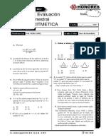 Examen Bimestral 3ero Secundaria