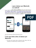 Aplicaciones Para Chatear Por Bluetooth Sin Internet en Android