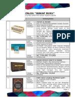Katalog Wakaf Buku