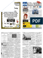 "Kuta Weekly-Edition 192 ""Bali""s Premier Weekly Newspaper"""