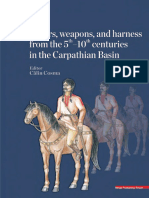 Cosma C. (Edit) Warriors, Weapons, And Harness From the 5th–10th Centuries in the Carpathian Basin