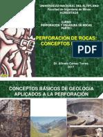 Perforacion de Rocas - Parte I-2017