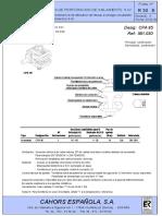 CAHORS - Conector de Perforacion de Aislamiento 6Kv