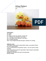 Baby Duckling Pattern