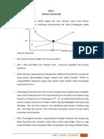 1- Model Ekonomi