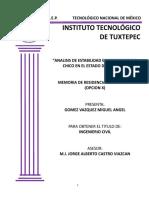 Analisis de Estabilidad en Bordos de Rio Chico en El Estado de Chiapas