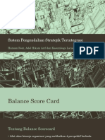 Sistem Pengendalian Stratejik Terintegrasi
