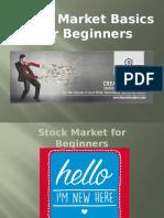 Stockmarket Basics for Beginners