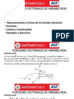 Clase 6-Funciones Vectoriales de Variable Real