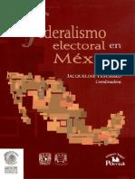 El Federalismo Electoral en Mexico