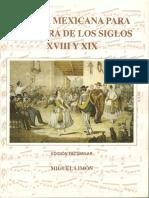 Musica Mexicana Ss 18 y 19. Ed Miguel Limon- 1997