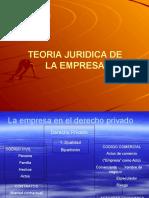 ''Teoría Jurídica de La Empresa