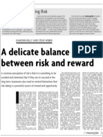 Monitor Risk Reward