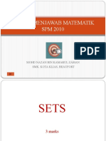 Teknik Menjawab Matematik Spm 2010