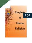 Prophets of Hindu Religion