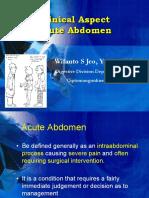 Dr Wifanto S Jeo, SpB-BD - Acute Abdomen