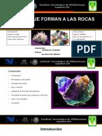 Minerales Que Forman a Las Rocas