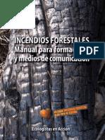 Incendios Forestales-Manual para formadores  y medios de comunicación