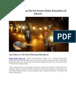 Djarot Melarang Hal Ini Selama Bulan Ramadhan Di Jakarta