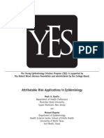 Attributable Risk Applications in Epidemiology