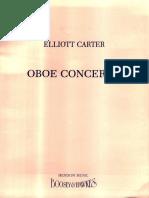 Carter, Elliott - Oboe Concerto (1988)