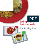 Eating Well for 1-4 Year Olds