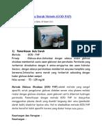 Pemeriksaan Gula Darah Metode