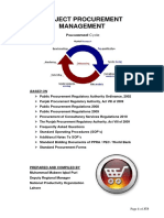 Project Procurement Management (PPM)