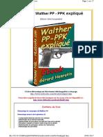 Walther PP - PPK expliqué
