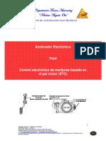 FORD Control Electrónico de Mariposa Basado en El Par Motor