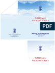 National Vaccine Policy India