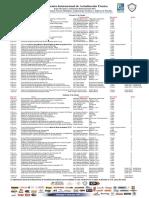 Lista Oficial de Conferencias Encuentro Internacional de Actualización Expo Mecánico Automotriz Internacional 2017
