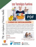 Prevención de Riesgos laborales en empresas de Limpieza y Primeros Auxilios