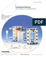 Chemistry in Microstructured Reactors