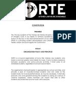 Forte Constitution (New)