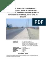 Informe Topografico de Panel 2 Gambeta