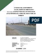 Informe Topografico Porticos Gambeta