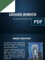 legged robots